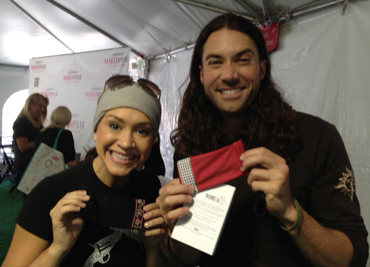 ace young and diana degarmo nomisa microfiber cleaning pouches