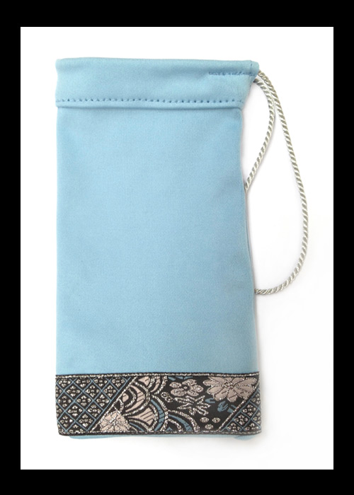 NOMISA microfiber cleaning pouch kristina sky blue phone iPhone 4 iPhone 5